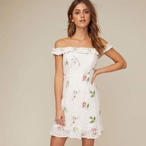 ASTR MONTE FLORAL MINI DRESS